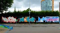 Graffiti Skatezone (oerendhard1) Tags: urban streetart art graffiti rotterdam talib capelle casm skatezone
