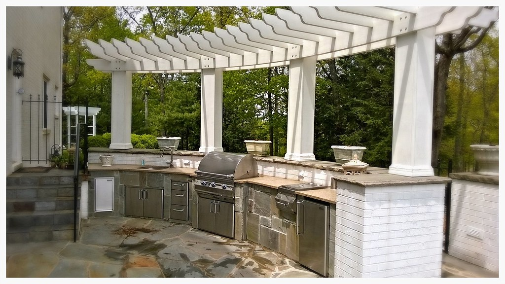 Custom Fire Magic Outdoor Kitchen, Lookout Mountain, TN