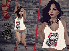 Love me (Jacee Baby) Tags: truth mesh sl blueberry secondlife attic heels poison pure maitreya my essenz