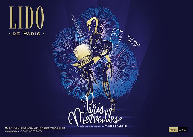 リド ディナーショー シャンゼリゼ・メニュープラン(ショー・ミュージカル・パフォーマンス・公演・演劇のオプショナルツアー)