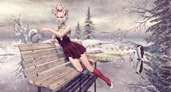 Fondness (Duchess Flux) Tags: limit8 uber collabor88 liaisoncollaborative fawny magika catwa skinnery purepoison zenith empyreanforge lepoppycock secondlife sl fantasy holiday winter free