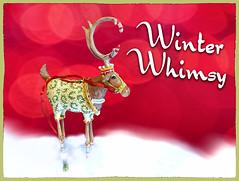 Merry Christmas & Happy Holidays! {Explored} (Garry9600) Tags: lumix fz200 winnipeg manitoba canada winter christmas holiday closeup reindeer explored 10000views