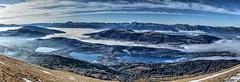 Mathesine and its three lakes. (b.houchmandzadeh) Tags: laffrey pétichet villardstchristophe isère mathésine pierrechatel cholange peyrouse notredamedevaulx grandserre