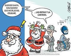 Querido Santa b (Caricaturascristian) Tags: pidiéndole santa claus santi cló asaltos atracos robos delincuencia inseguridad carta pido