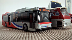 WMATA 7014 Model (1) (Alexander Ly) Tags: wmata washington dc metro montreal montrealnord nord quebec canada autobus bus model toy transit city scale reduit mta ttc new york orion vii gm look articulated articulé group nabi 60brt cng 60 brt jouet
