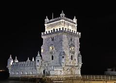 torre de Belem - Lisboa (Stauromel) Tags: belem belen torre torredebelem lisboa arruda manuelismo arquitectura arquitecturadefensiva nocturna stauromel skyline alquimiadigital canon1dmarkii melilla