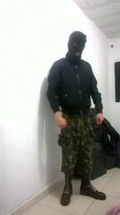WP_20161007_008 (hatednproudfuckyou) Tags: skinhead combat boots bomber jacket balaclava hate hated proud