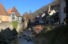 Kaysersberg (annalisabianchetti) Tags: kaysersberg alsazia alsace village villaggio river france francia houses