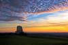 la ligne des Pyrénées à 200 km, sur l'horizon (Denis Vandewalle) Tags: sunset coucherdesoleil clouds nuages landscape paysage sunlight quercy lot midipyrénées denisvandewalle pentaxk5 causse sky ciel occitanie