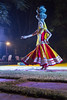 Traditional Indian Dancer, Jaipur (Ann Kruetzkamp) Tags: dancer night spin pots performance woman women tourists jaipur india cycle bicycle rajasthan intrepid travel tour screen sunrise sunset pink city photography photojournalism documentary pic photo bicycling color editorial tourism heritage textile fabric pattern sari men man depthoffield light tailor sewing sewingroom custom blockprint smog smoke tuktuk scooter moped hundu amberfort amer amber fort sandstone hawamahal palaceofwind