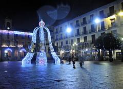Campana_Plaza_DSCN3639 (darioalvarez) Tags: luces festivas iluminación lucesnavideñas plazamayor zamora castillayleón españa spain viajes invierno cultura 31dediciembre2015