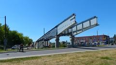 P1380411 DK 15 Brodnica. Poland (stapaw) Tags: kujawsko pomorskie kuyavian pomeranian most bridge budowa construction wiadukt viaduct