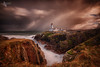 Stormy Fanad (Mr Bultitude) Tags: fanad long exposure hdr donegal ireland coastal storm snow inishowen lighthouse cliffs sea waves