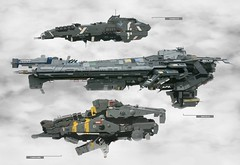 all ships (Malydilnar) Tags: lego sci fi halo space