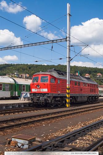232.262-3 DB | trať 098 | Děčín