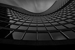 Reaching for the sky (JohnNguyen0297 (slowly catching up)) Tags: bnw mono fineart cityhall toronto ontario a6000 ilce6000 johnnguyen0297 johnnguyen lookingup lookup blackandwhite monochrome canada