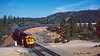 Curving into Colfax (C.P. Kirkie) Tags: amtrak amtk california amtrakzephyr californiazephyr donnerpass overlandroute southernpacific sp emd f40ph sdp45 passengertrain trains railroads