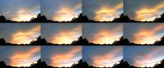 Flash Sunset_211112_TimeSeries (northern_nights) Tags: sunset skyfire sky clouds santafe newmexico timeseries firesky nikond7000 nikkor35mmf14