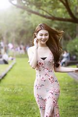 Running Giirl (SU QING YUAN) Tags: female girl model hair running portrait beauty beautiful cute pretty sony a99 135za sonnart18135 taiwan taipei