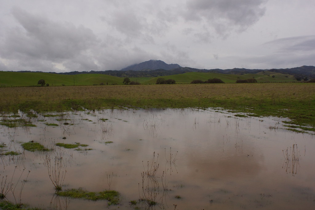 #2017-01-09 Clouds around Mount Diablo [#4]