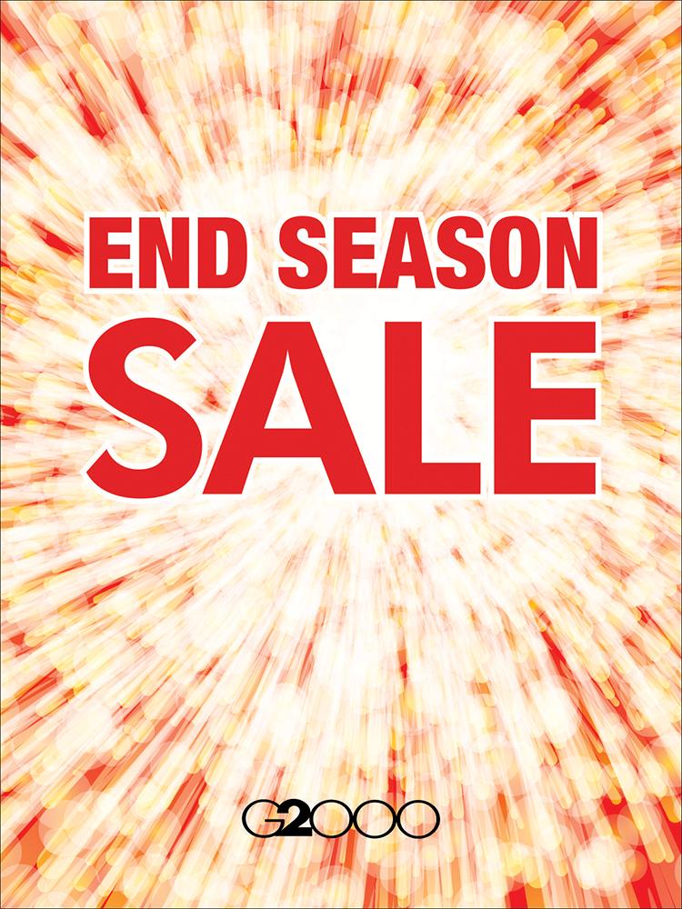 G2000 - End Season Sale