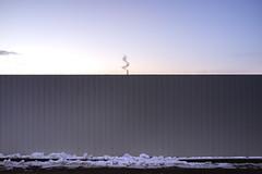 hint (the tin drummer) Tags: hint winter cloud wall minimal sunset evening low light spiral shape proportion landscape