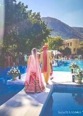 Leading to a World where Joy and Happiness is Anything & Everything...!!! (SafarNAAMAA) Tags: wedding photography outdoor shoot photoshoot shaadi marriage hindu mala udaipur india safarnaamaa