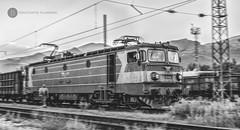 Unstoppable (cossie*bossie) Tags: bdz cargo 46028 46 028 bulgarian railways stalker rusty neglected electric locomotive machine motion zoom le5100 060ea electroputere craiova asea pirdop bulgaria