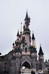 Disney Castle (abdalmajeedTM) Tags: travel europe photography nikon vacation winter edit travilling traviling photographier colorful black white wanderlust places love 2017 january february paris france french eiffel tower disney disneyland disneyworld museum louvre musee statue notredame notre dame church art architecture gallary city country tag cool nice sexy classic view nature forever alone