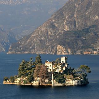 Isola di Loreto, da Monte Isola