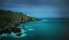 Start Point (Nickerzzzzz - Thanks for stopping by :)) Tags: ©nickudy nickerzzzzz theartofphotography canoneos5dmarkiii ef1635mmf4lisusm startpoint coast le longexposure lighthouse startbay devon southwest rocks water sea clouds sky seascape landscape