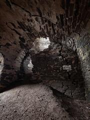 Cracks (M1054240 E-M1 9mm iso200 f8 1.3s -2ev) (Mel Stephens) Tags: uk castle abandoned scotland ancient aberdeenshire interior olympus structure zuiko 43 omd em1 2015 sandend m43 q2 fourthirds findlater mirrorless mmf3 microfourthirds 918mm 201506 20150605