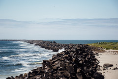 The Divide (chng8) Tags: canon 7dmarkii pacific ocean columbia river jetty fort stevens mouth oregon rock beach usa coast seaside shore water sea