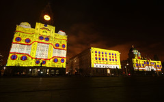 Amazing Graces Liver Pool Projections May2015 (spacepatrol) Tags: liverpool royalliverbuilding laserlightshow portofliverpool cunardbuilding 3queens projectionmapping videomapping amazinggraces cunard175 onemagnificentcity