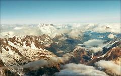 Across Mont Blanc (Katarina 2353) Tags: desktop travel winter vacation panorama cloud france alps film landscape photography photo view image outdoor range chamonix montblanc katarinastefanovic katarina2353