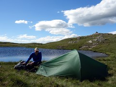 """My wild camp on the summit of Glasgwm • <a style=""""font-size:0.8em;"""" href=""""http://www.flickr.com/photos/41849531@N04/19320256836/"""" target=""""_blank"""">View on Flickr</a>"""