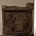 18 - Metz Musée de la Cour d'Or Epoque celtique et gallo-romaine Stèle funéraire, Calcair, 2ème siècle, Ilôt Saint Jacques