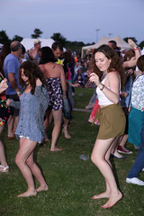 Party By The Parrett - The Dancers (lens buddy) Tags: uk girls party england people music festival bar fun women lads dancing therec families smiles boyfriends daughters partying somerset guys staff babes laughter fans wives girlfriends beautifulpeople husbands musicfestival sons happypeople youths thevenue festivalsite somersetlevels foodtent riverparrett kingsburyepiscopy partybytheparrett