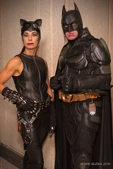 Tampa Bay Comic-Con 2015 Cosplay - CATWOMAN & BATMAN (Howie Muzika) Tags: costume tampabay florida cosplay character comicbook fl dccomics comiccon
