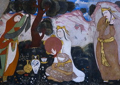 Colorful Mural Painting In Hasht Behesht Palace, Isfahan Province, Isfahan, Iran (Eric Lafforgue) Tags: art horizontal painting photography site asia iran persia nobody nopeople unescoworldheritagesite indoors sight orient esfahan sights isfahan ispahan إيران иран colourimage イラン irão isfahanprovince safavidera 伊朗 humanrepresentation sepahan spadana 이란 hispahan iran150058