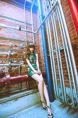 KUN_4541@ (螢幕花到) Tags: nikonafsnikkor1635mmf40gedvr nikon 1635mm f4 vr 1635 wideangle wide 広角 広角レンズ 廣角 portrait brunette beauty charming woman d3s taichung 臺中文化創意產業園區 中興大學 復古旗袍 歌德公主 retrocheongsam goetheprincess やけい 外拍 顏 人像写真 撮影 女の子 少女 美貌の 佳人の 上品 elegant 艶やか おしゃれ cute 綺麗 体のライン femalefeet 美腿 美しい脚 また 綺麗な足