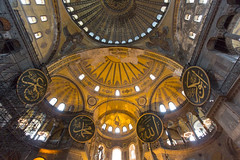 The top (DelightTurkish) Tags: art church museum turkey aya islam trkiye indoor mosque musee trkei decke architektur mosquee gebude sophia eglise islamic turchia ayasofya sofya haghia moschee halife kalifen
