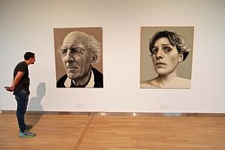 Hyperrealistische portretten door Annemarie Busschers in Museum MORE in Gorssel