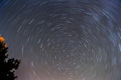 star trails (bluffindam) Tags: longexposure sky night circle stars star iso100 nikon long exposure nightphoto nikkor startrails polaris 18mm nikond3200 mll3 d3200