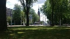 Tropenronde (Peter ( phonepics only) Eijkman) Tags: city holland netherlands amsterdam transport nederland tram rail rails trams noordholland gvb combino nederlandse