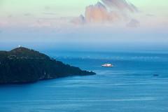 Turn (Jokoleo) Tags: jayapura ship turn bay cape papua sea coast indonesia