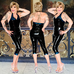 home14154-56 (Ann Drogyny) Tags: shoes legs heels crossdress crossdresser crossdressing cd tv tg ts transvestite transgender transsexual tranny tgirl glamour pinup mature cute sexy stockings nylons suspenders garters