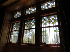 Stained-Glass Windows (pirate johnny) Tags: glensheen duluth mansion minnesota northshore