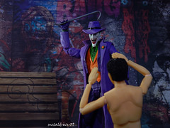 """Say hello to the """"crow"""" bar (metaldriver89) Tags: joker suicidsquad suicide squad batman dc dccollectibles mattel collectibles dceu dcuc comics badguys dccomics movie actionfigure action figure figures universe classics batmanunlimited legacy unlimited toys matteltoys new52 new 52 acba articulatedcomicbookart articulated comic book art gotham gothamcity actionfigures toyphotography toy nightmarebatman nightmare indoor thedarkknight thedarkknightreturns vs multiverse dcmultiverse darkknight dark people portrait jaredleto jared shfiguarts sh figuarts bandai tamashii nations icons dcicons"""
