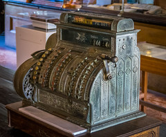 Cash Register (Serendigity) Tags: lincoln newmexico interior historic museum usa unitedstates store town wildwest